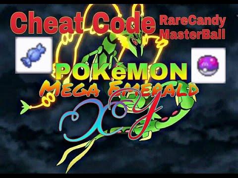 Pokemon emerald gameshark codes master ball in bag