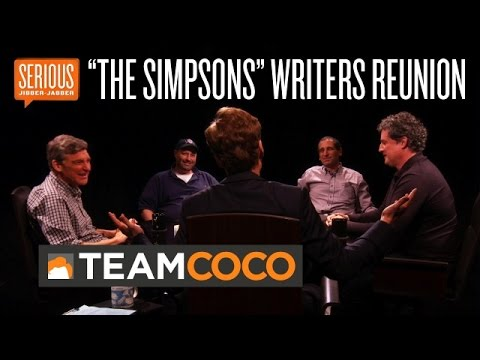 """The Simpsons"" Writers Reunion -- Serious Jibber-Jabber with Conan O'Brien - CONAN on TBS (видео)"