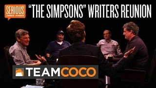 """""""The Simpsons"""" Writers Reunion -- Serious Jibber-Jabber with Conan O'Brien - CONAN on TBS"""