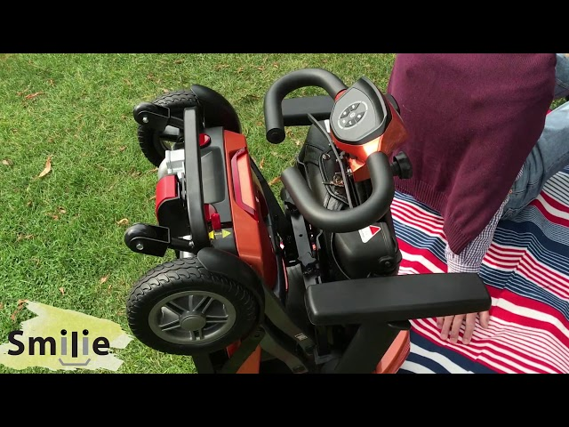 Rascal Smilie Manual Folding Scooter Long Range Video