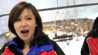 Natalie Tran In Dubai With Lonely Planet