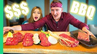 Most EXPENSIVE KOREAN BBQ in the WORLD! How much and is it Worth It?