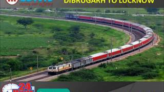 Get Life Savior Hi-tech Train Ambulance Service in Dibrugarh by Medivic