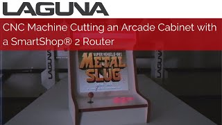 CNC Cutting an Arcade Cabinet