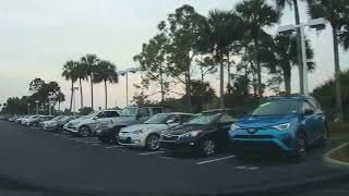 Driving Around a BMW Dealership