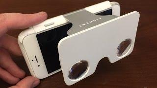 Чехол для смартфона с очками виртуальной реальности