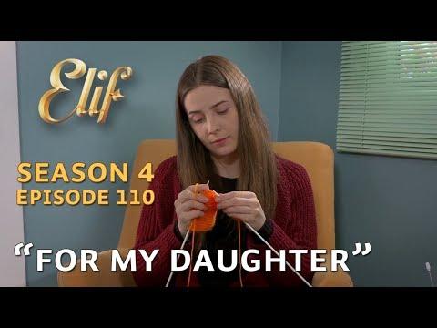 Melek knits a scarf for Elif - Episode 670   Season 4