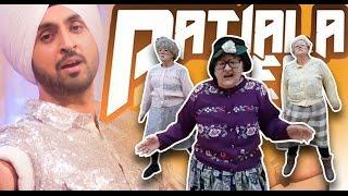 Gambar cover UK's Bhangra 'Dancing Grannies' rocks to Diljit Dosanjh's Patiala Peg Song