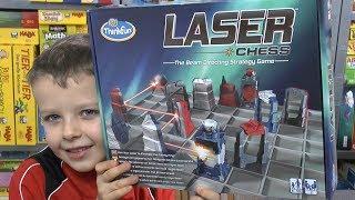 Laser Chess (Thinkfun / Ravensburger) - 2er Spiel mit Laser ab 8 Jahre