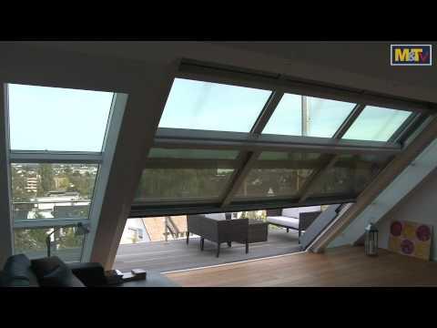 Metallhandwerk M&T-Metallbaupreis 2011: Dachschiebefenster