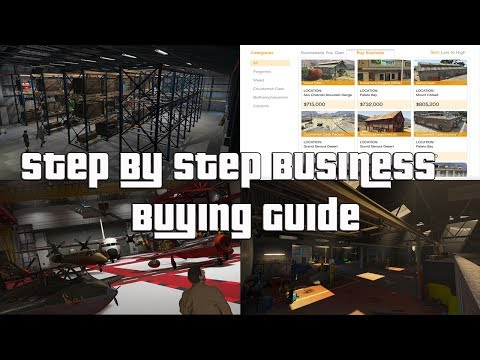 GTA Online What Business Should You Should Buy First? Step By Step Buying Guide