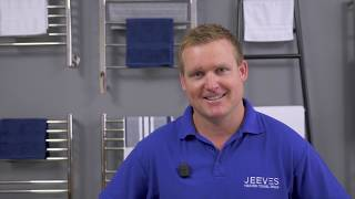 Jeeves Heated Towel Rails  - Features & Benefits