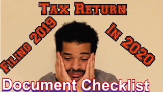 10 TAX PREPARATION Checklist: Documents Needed For Your 2019 Tax Return