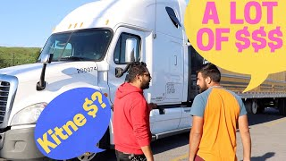 Story & Salary of an Indian Truck Driver in Canada! - YouTube