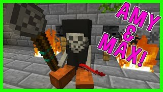THE GREAT NECROMANCER! | Amy & Max! Ep.56 | Minecraft