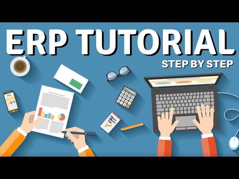 ERP Tutorial for Beginners in Hindi / Urdu - YouTube