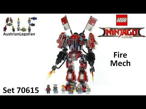 Vidéo LEGO Ninjago 70615 : L'Armure de Feu