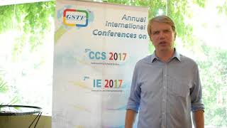 Dr. Meelis Kitsing at IE Conference 2017 by GSTF