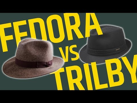 This Over That: Brimmed Hats // Fedora vs Trilby - What's The Difference? Which One Should You Wear?
