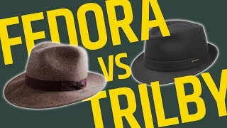 This Over That: Brimmed Hats // Fedora Vs Trilby - Whats The Difference? • Effortless Gent
