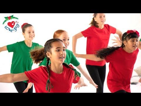 Jingle Bells Dance 2018  | Christmas Dance Song for Kids Choreography