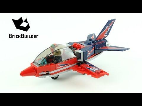 Vidéo LEGO City 60177 : Le jet de voltige