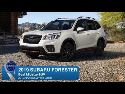 2019 Subaru Forester Wins the AutoWeb Buyer