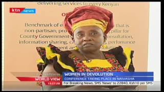 World View: Women's Day 2017- Women in Devolution
