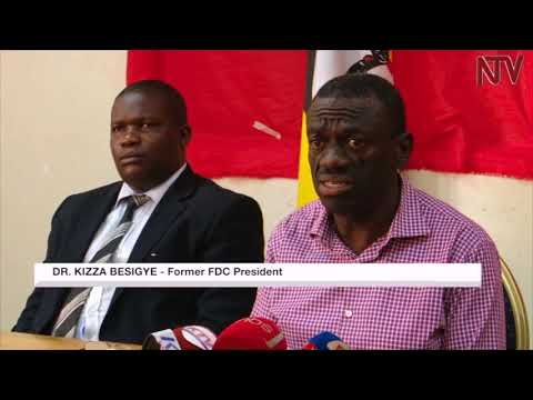 Besigye condemns the treatment given to MPs arrested in Arua