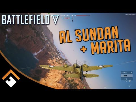 AL SUNDAN + MARITA MAPS: 20+ Minutes of Battlefield V Gameplay