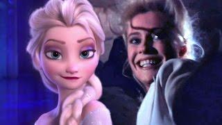 FROZEN MEETS INDIANA JONES: Elsa Can't Let It Go