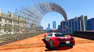 EL ESPIRAL INVISIBLE!! - CARRERA GTA V ONLINE - GTA 5 ONLINE
