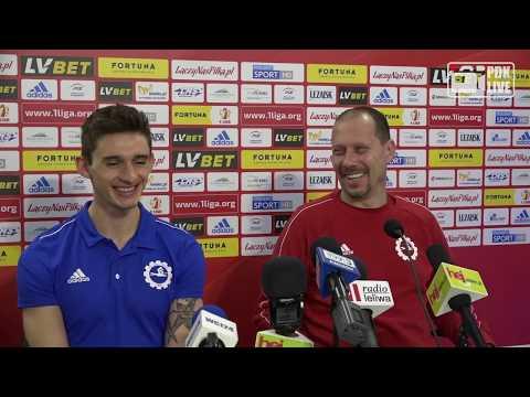 WIDEO: Konferencja prasowa po ostatnim meczu w Polsce Stali Mielec. Czas na Turcję