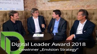 "Digital Leader Award 2018 - Sieger in der Kategorie ""Envision Strategy"""
