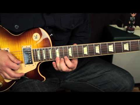 Blues Guitar Lessons - Soloing with major and minor