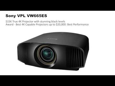 The 2016 Best Home Theater Projectors Report by Projector Reviews
