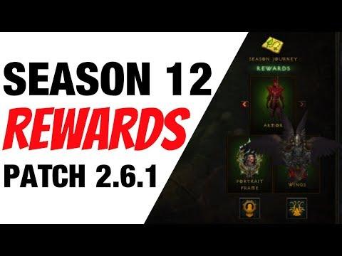 Diablo 3 Season 12 Rewards Patch 2.6.1