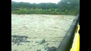preview picture of video 'creciente del rio misantla'