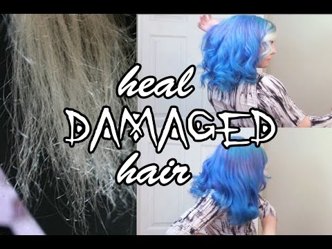 Video How to: Heal Ultra-Damaged, Brittle Hair | Stef Sanjati