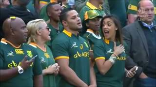 The National Anthem Of South Africa (Best Performance)