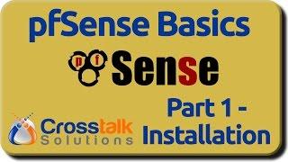 pfSense Basics - Part 1 - Installation