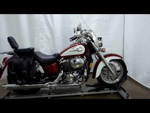 2001 Honda Shadow Ace 750 Deluxe in Eden Prairie, Minnesota - Video 1