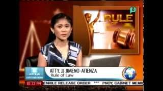 Rule of Law: What is 'Writ of Habeas Data?' || Aug. 18, 2015