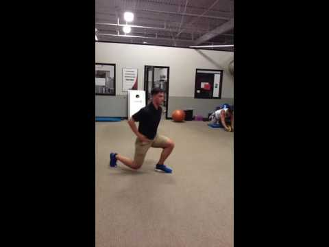 Seesaw Lunge