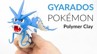 Gyarados Pokemon – Polymer Clay Tutorial