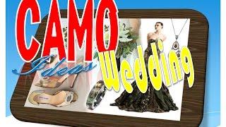 Camo Wedding Ideas - Camo Wedding Decorations