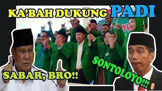 GENDRUWO ROMMY LEMES !  MUAK DNG GENDRUWO SONTOLOYO PPP DUKUNG PRABOWO SANDI ! SABAR GUS !
