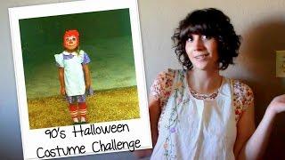 90s Halloween Costume Challenge