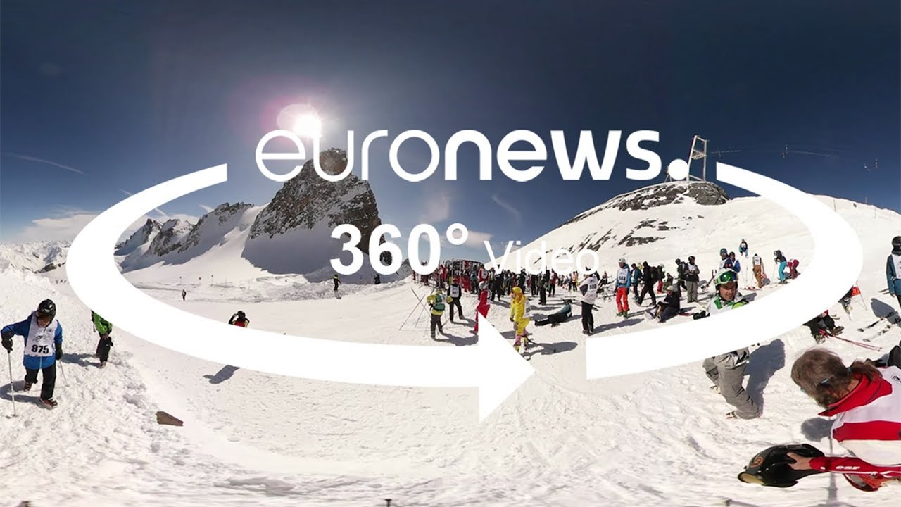 Γαλλία: Κατάδυση στις χιονισμένες κορυφές του «Λα Γκραβ»