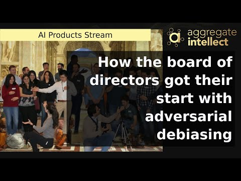 How the board of directors got their start with adversarial debiasing